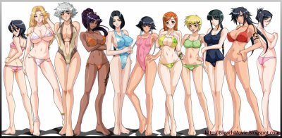 :.Groupe sexy de Bleach.: