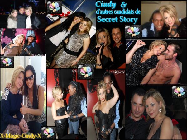 ıllı. Cindy et d'autres candidats de Secret Story  ıllı.