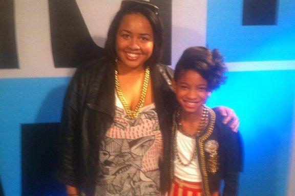Willow dans les Backstages de 106&Park.