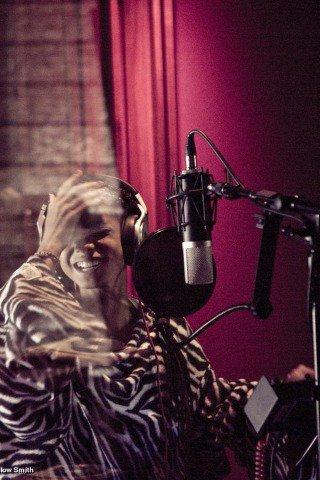 Willow Smith en studio.