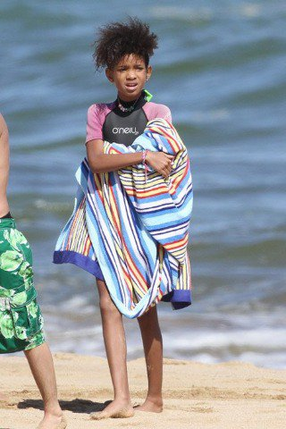 Willow Smith à Hawaii.