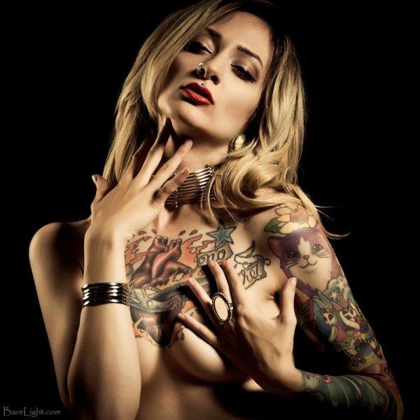 ladies tattoo