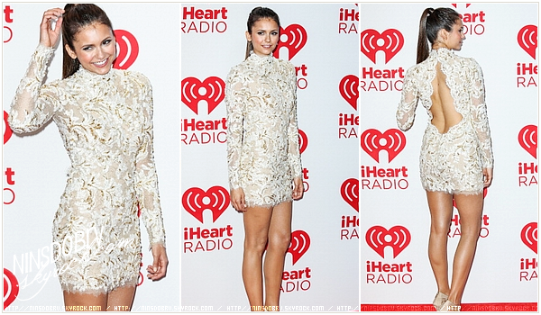 // Nina attendws the 2012 iHeartRadio Music Festival – Day 2 at MGM Grand Garde in Las Vegas, Nevada  on Arena September 22, 2012 .