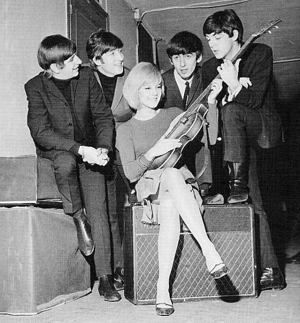 Sylvie Vartan et les Beatles
