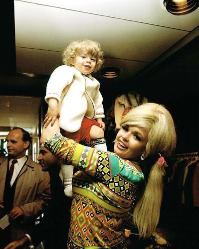 Jayne Mansfied & ses enfants ♥