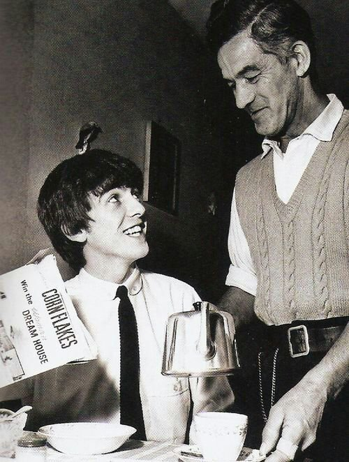 George et son papa! :3
