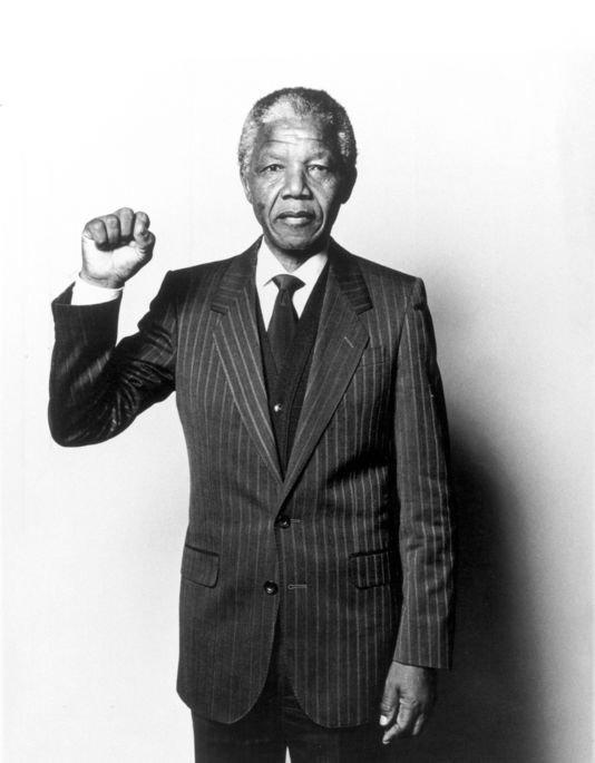 Une pensée pour Nelson Mandela ♥