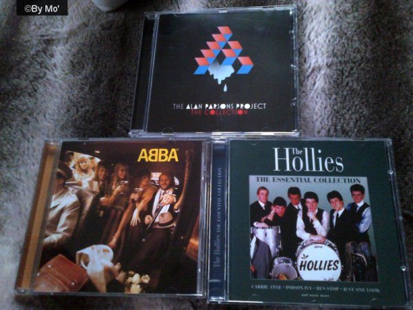 mes CD des sixties & other.... -The Hollies, ABBA & Alan Parsons Project - partie 2