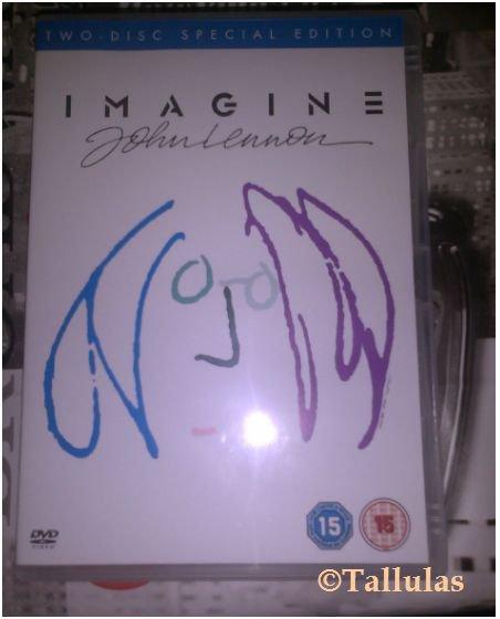Mon DVD sur John Lennon *-*