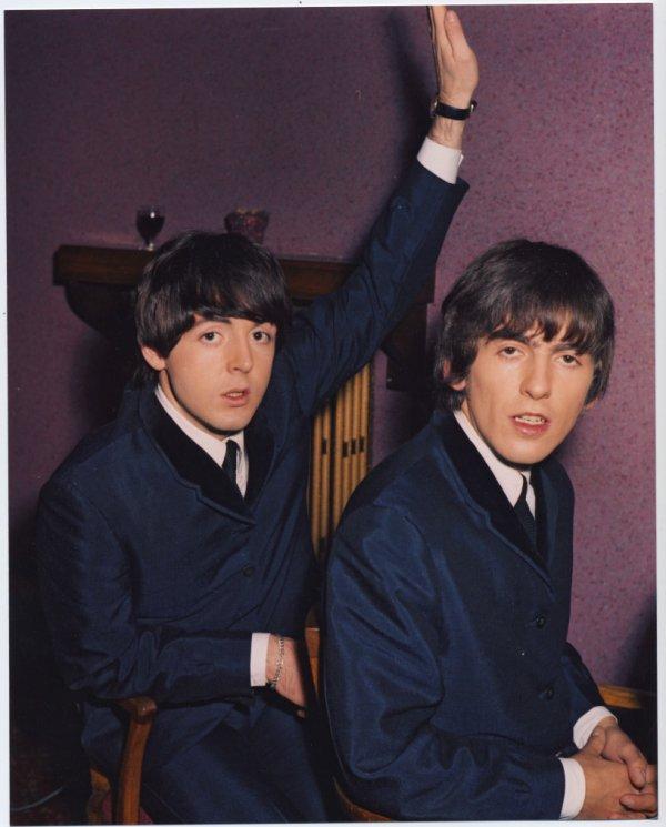 George, juste un peu fatigué c':