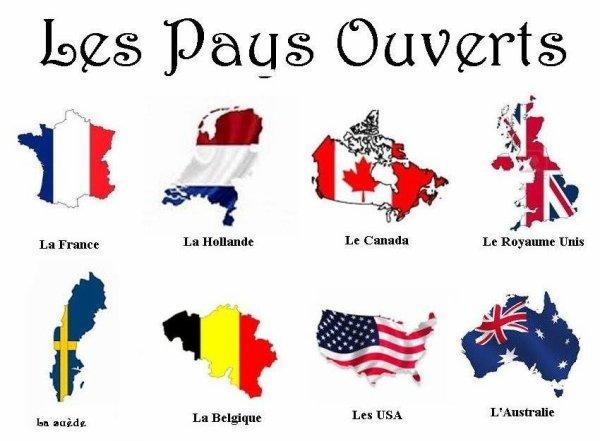 les pays ouverts