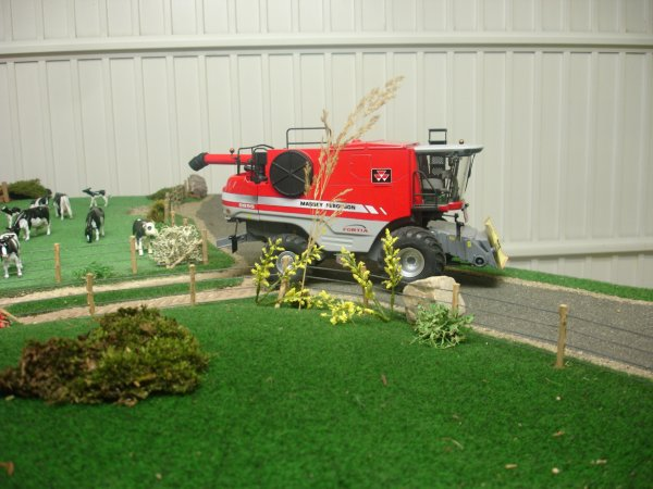 Moisson 2011, en miniature !