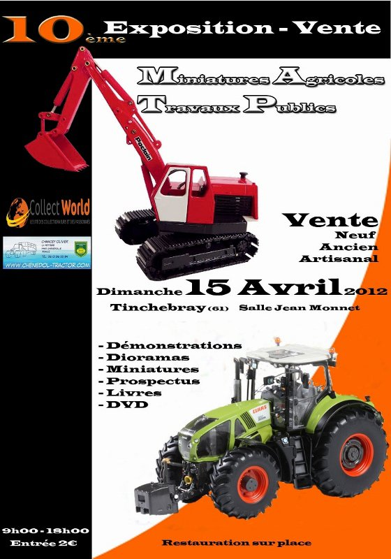 Exposition Tinchebray 15 avril 2012 !
