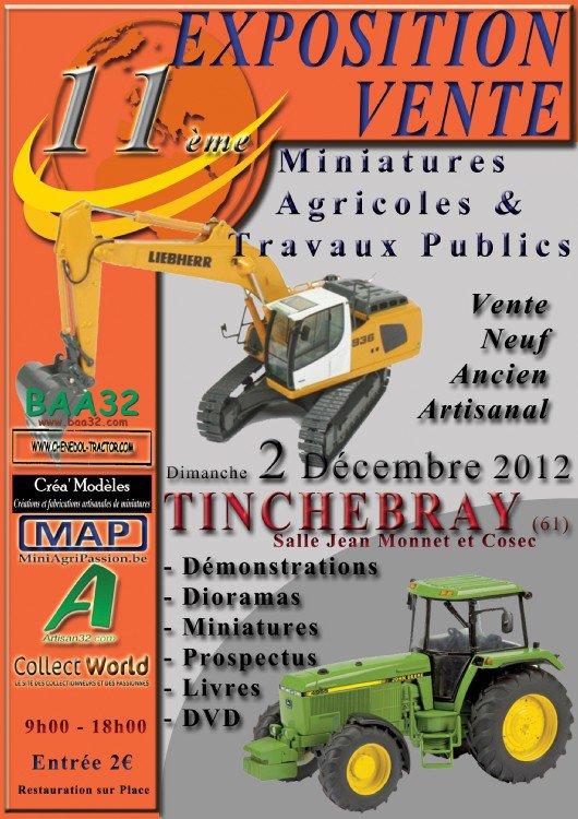 Exposition Tinchebray 2 déc 2012 !