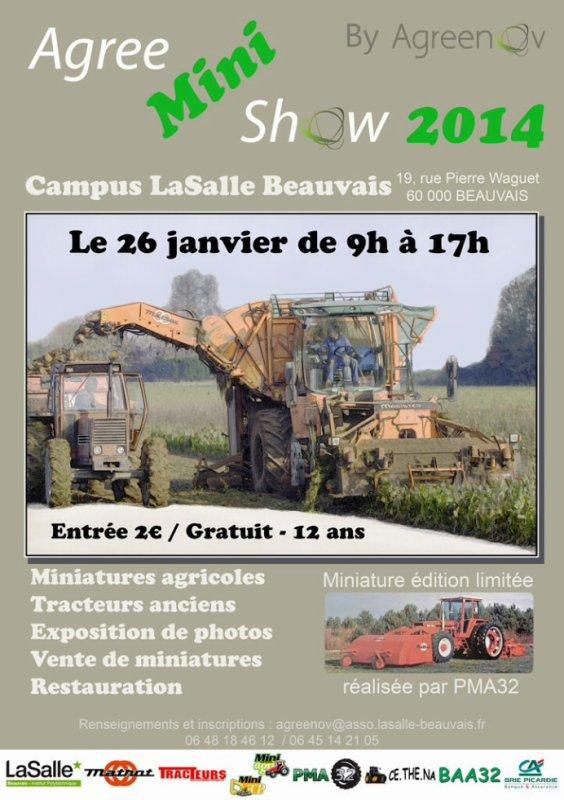 Expo Beauvais janvier 2014 !