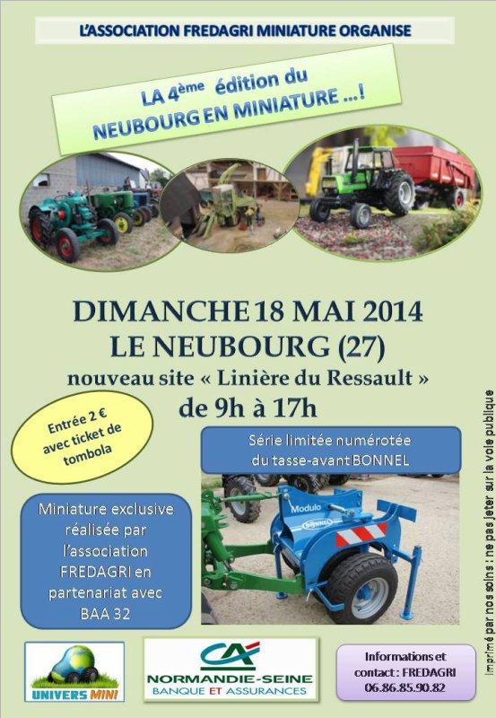 Expo Le Neubourg 18 mai 2014 !