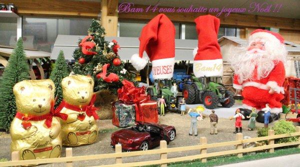 Joyeux Noël à toutes et à tous!