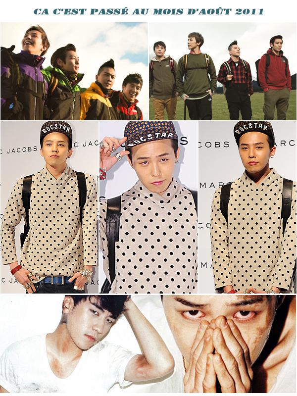 Flash News BIGBANG pour Aout