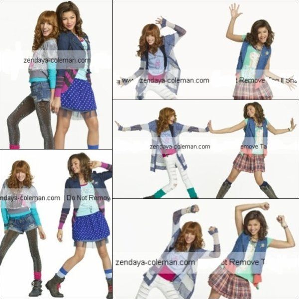 "Photoshoot promotionel de la saison 2 de "" Shake It Up """