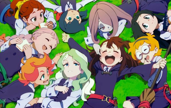 little witch academia le film