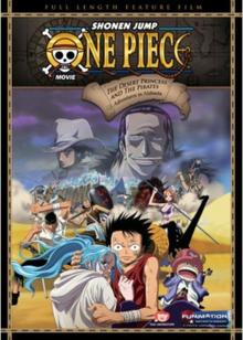 Film 8 – Épisode d'Alabasta : Les pirates et la Princesse du désert