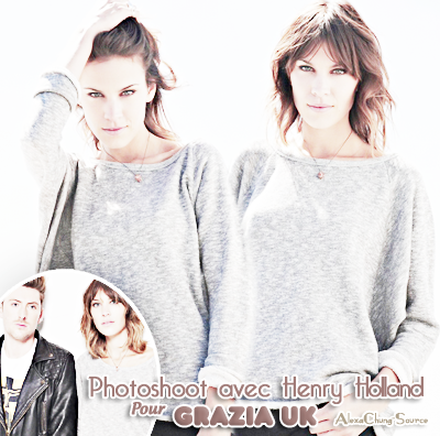 Catégorie : Photoshoot  Alexa Chung & Henry Holland ensemble pour un photoshoot.