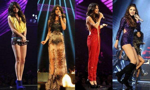 Selena au MTV EMA