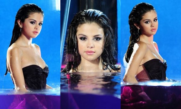 Photoshoot de Selena  pour la promotion de son parfum