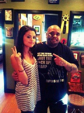 Selena s'est faite tatouer