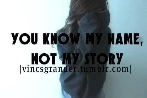 Tu sais mon mon pas mon histoire