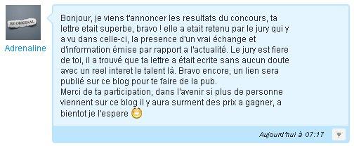 ♚♚♚ Concours. De lettre. ♚♚♚