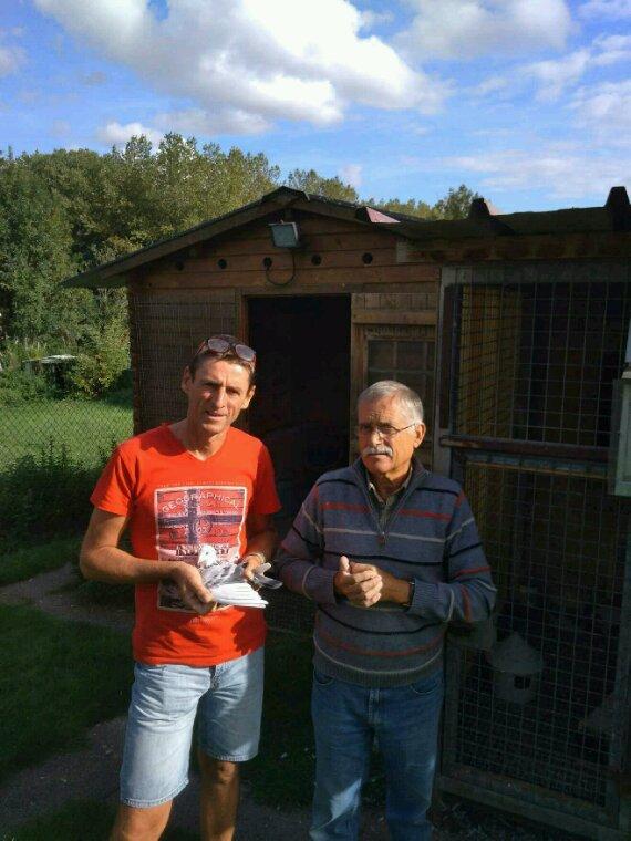 Visite de l ami Philippe Hamon de Rennes