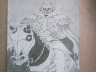 † HORSE AND SKULL †