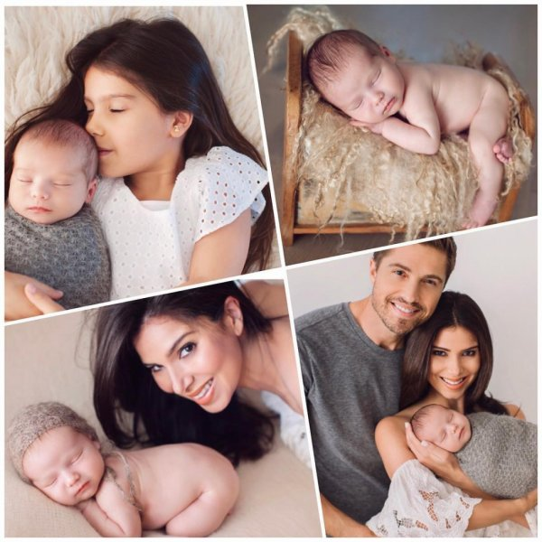 Roselyn Sanchez, Eric Winter, Sebella Rose et Dylan