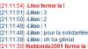 Merci Liloo♥