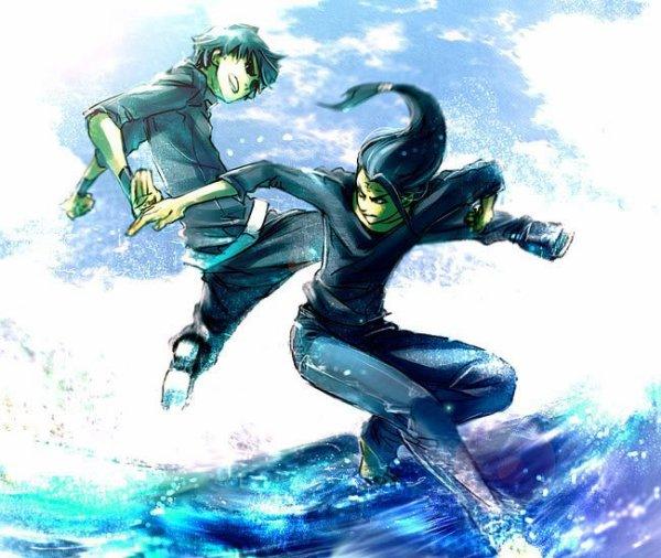 """""""Même en connaissant mon nom, tu as osé me défier."""" Naruto."""
