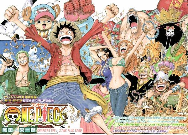 """2 ans plus tard..."" One Piece."