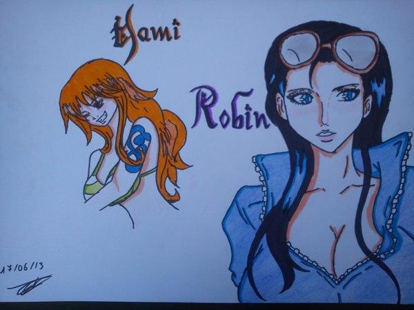 Nami et Robin ♥ ♪
