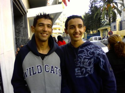 Anass Touil et Aref Oueriaghli