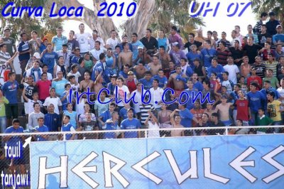ULtRA  Hercules , Stade de Marchane , Curva Loca