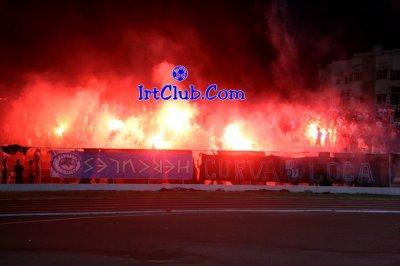 Stade Marchane Tanger - Ultra Hercules 07  - les flammes  dima Cha3liine
