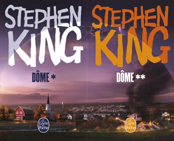 Le dôme Tome 1 & 2 - Stephen King