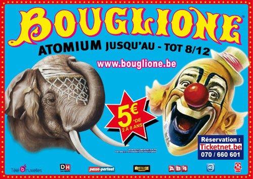 BOUGLIONE A BRUXELLES DU 16 0CTOBRRE AU 8 DECEMBRE 2013