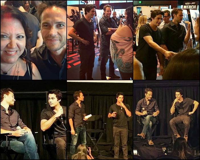Photos de Taylor lors de la présentation du film American Assassin à Austin - le 15 Aout -