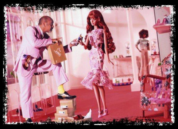 Christian Louboutin et Barbie