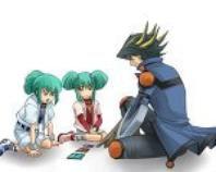 Yusei, Jaden, loua et louca