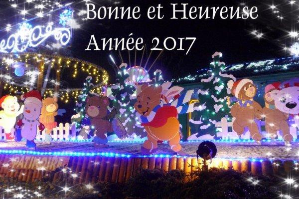 Bon Réveillon et Bonne Année 2017