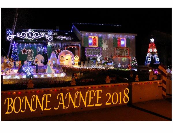 BONNE ANNEE 2018 A TOUS !!!!!!