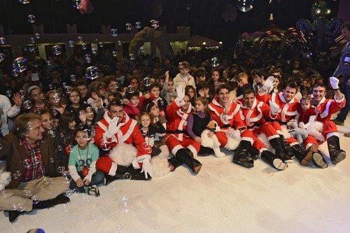 Ferrari fête Noël avec les enfants