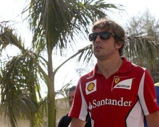 Alonso suit cela de près